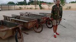 Quảng Ninh: Bắt giữ đối tượng nhiều lần trộm cắp xe kéo làm đồng