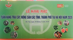 Hàng trăm đặc sản địa phương tập trung tại Hà Nội