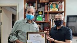 Trao giải cuộc thi Làm báo cùng Dân Việt tháng 3/2020