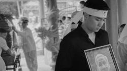 Quốc Trường lặng người trong đám tang ông nội, dàn sao Việt động viên