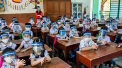 Bộ GD&ĐT nói gì về việc học sinh đi học trở lại phải đeo khẩu trang, che tấm chắn, lớp học không bật điều hòa?
