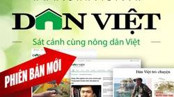 Báo điện tử Dân Việt ra mắt phiên bản mới