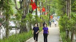 Tuyến đường đi bộ tràn ngập cây xanh mới xuất hiện ở Hà Nội