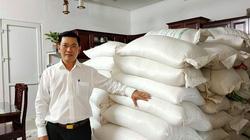 Công an vào cuộc vụ mua 10 tấn gạo làm từ thiện, bị tráo hàng chất lượng kém