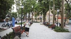 Cận cảnh vườn hoa công viên hiện đại nhất quận trung tâm Hà Nội