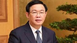 Sáng nay Bí thư Hà Nội Vương Đình Huệ đã được Quốc hội phê chuẩn, miễn nhiệm Phó Thủ tướng