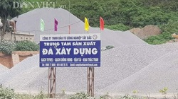 Điện Biên: Công ty TNHH Đầu tư Công nghiệp Tây Bắc khai thác đá ngoài phạm vi cấp phép ?