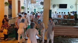 Lốc xoáy khủng khiếp ở Vĩnh Phúc: Hàng chục người nhập viện, nữ Bí thư tỉnh tới thăm trong đêm
