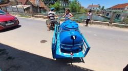 """Bình Định: Cứ đến mùa nắng, cả làng lại """"rồng rắn"""" tay can tay chậu tìm nước, mọi thứ đảo lộn"""