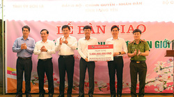 Agribank ủng hộ kinh phí xây dựngnhà ở cho gần 1.400 hộ dân nghèo tại huyện Vân Hồ, Sơn la