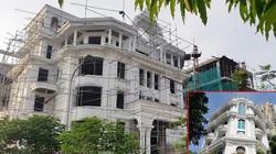 """Nở rộ công trình """"cung điện, lâu đài"""" tự hợp thửa đất liền kề ở Hà Nội"""