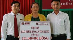 Agribank chi nhánh Lai Vung – Đồng Tháp chi trả 301 triệu đồng quyền lợi bảo hiểm Bảo an tín dụng