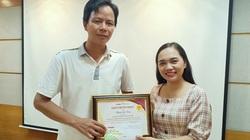 Trao giải xuất sắc tháng 5/2020 cuộc thi Làm báo cùng Dân Việt
