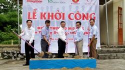 Báo NTNN/Báo Điện tử Dân Việt khởi công điểm trường mơ ước ở Nghệ An