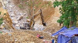 Cận cảnh khai thác đá tại Công viên Địa chất Toàn cầu Cao nguyên đá Đồng Văn