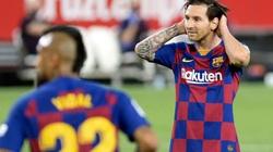 Giận mất khôn, Messi may mắn không bị trừng phạt