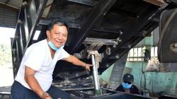 Kiên Giang: Ông trưởng ấp đam mê sáng chế máy nông nghiệp phục vụ nông dân
