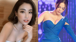 """""""Hoa hậu nghèo nhất trong các Hoa hậu"""", Phạm Quỳnh Anh gây """"bỏng mắt"""" vì mặc đồ cúp ngực quyến rũ"""
