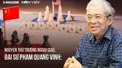 """Đại sứ Phạm Quang Vinh: """"Mỹ - Trung cạnh tranh để soán ngôi số 1, nhưng  không triệt tiêu nhau"""""""