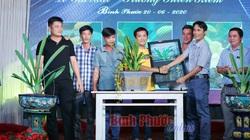 2 chậu lan kiếm đột biến quý hiếm vừa bán đấu giá thành công với mức giá 400 triệu ở Bình Phước