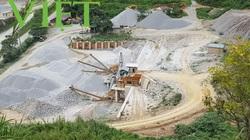 UBND tỉnh Điện Biên chỉ đạo kiểm tra sai phạm tại mỏ đá Tây Bắc