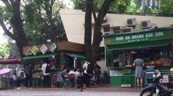 """""""Xẻ thịt"""" đất công, cửa hàng thời trang xuất hiện trong khuôn viên Đại học Quốc gia Hà Nội"""