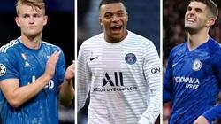 5 cầu thủ U21 được trả lương cao nhất Châu Âu: Mbappe số 1, ai số 2?