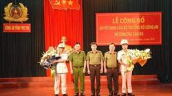 Công an tỉnh Phú Thọ có 2 tân Phó Giám đốc