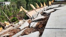 Vụ công trình tiền tỷ sập do mưa: Đề nghị kiểm tra lại toàn bộ thiết kế