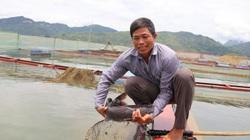 """""""Làm nương"""" trên mặt hồ Sông Đà"""