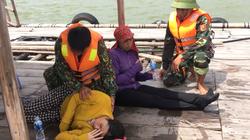 Quảng Ninh: Cứu 2 người đuối nước khi đánh bắt ngao