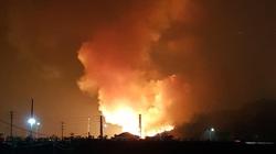 Cháy lớn tại khu doanh trại quân đội ở Thái Nguyên