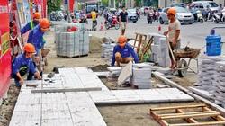 """Hà Nội: Nhiều quận, huyện dùng đá lát vỉa hè """"dưới chuẩn"""""""