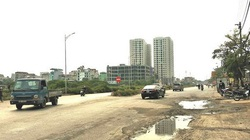 """""""Phình"""" ra 55m chỉ để trồng cây, DA đường Tam Trinh sẽ bị thanh tra"""