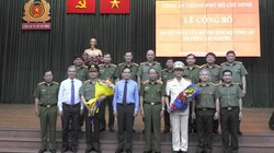 Đại tá Lê Hồng Nam nhận quyết định làm Giám đốc Công an TP.HCM