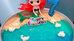 Không cần lò nướng, mẹ đảm có thể làm bánh sinh nhật cho con bằng mẹo này