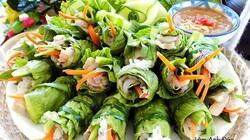 Đổi vị với các món cuốn xanh mát, chua chua, ngọt ngọt gợi vị giác ngày nắng nóng
