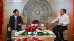 Phó Chủ tịch - Tổng Thư ký Ủy ban TƯ Mặt trận Tổ quốc Việt Nam thăm và chúc mừng Báo NTNN/Dân Việt