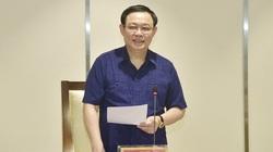"""Ông Vương Đình Huệ: Sẽ nghiên cứu cơ chế để khai thác """"mỏ vàng"""" chất xám Hà Nội"""