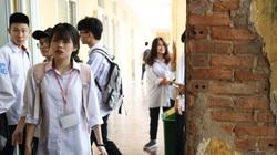 Trường học xập xệ, thầy trò phải chuyển sang nơi khác vì quá nguy hiểm