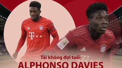 """Alphonso Davies: """"Ma tốc độ"""" của Hùm xám xứ Bavaria"""