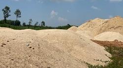 Quảng Ngãi: Sở TNMT nói gì về số cát ở bãi chứa trái phép của Công ty Lý Tuấn ?