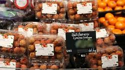 """Vải thiều Bắc Giang tiếp tục ngồi """"chễm chệ"""" trong các siêu thị lớn của Thái Lan"""