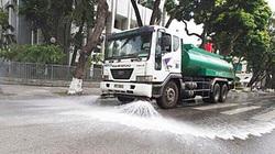 Nắng nóng, Hà Nội quyết chi hơn 114 tỷ đồng rửa đường phố