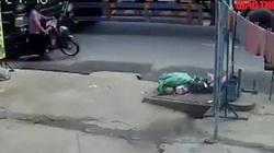 Video: Kinh hoàng cảnh xe ben cán, kéo lê khiến một cô giáo tử vong