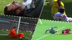5 chấn thương kinh hoàng nhất của các thủ môn: Gãy cổ, gãy chân...