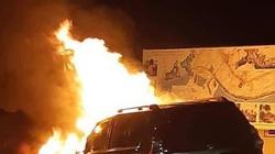 Bắt khẩn cấp nghi phạm đốt 6 ôtô lúc rạng sáng