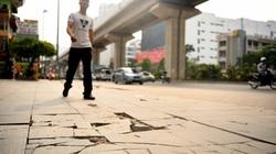 """Lát đá vỉa hè """"dưới chuẩn"""": Hà Nội yêu cầu lập đoàn kiểm tra"""