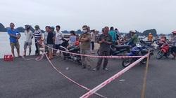 Cận cảnh hiện trường vụ ô tô lao xuống biển ở Hạ Long