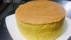 Cách làm bánh bông lan cam vàng ngon lành cho bữa sáng, khởi động một ngày rực rỡ